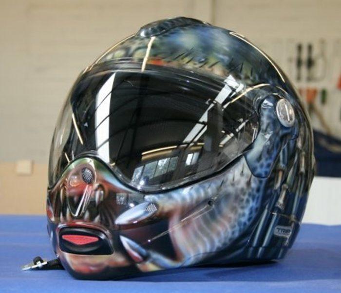 Predator Motorcycle Helmet James King Paint